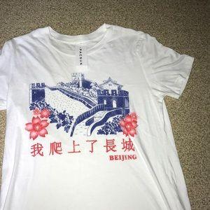 Pacsun shirt sleeve shirt